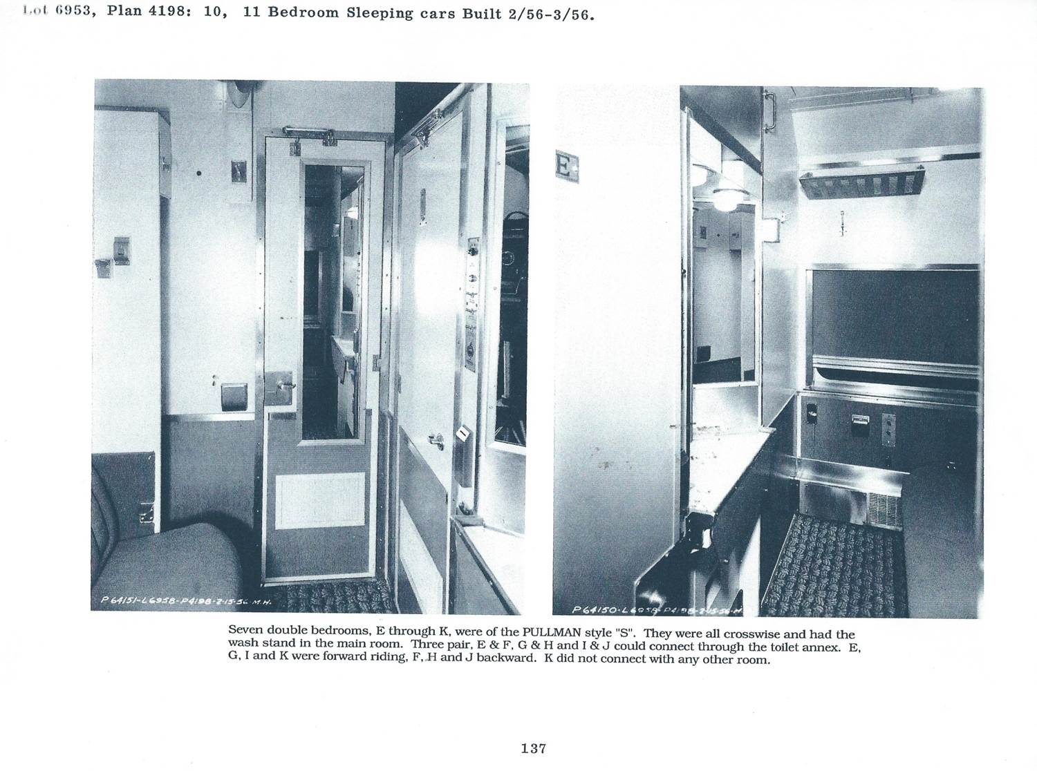 Inside of train car 2